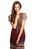 Young fashion girl Stock Photos