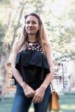 Young fashion girl Stock Image