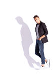 Young fashion male model posing Royalty Free Stock Photo