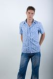Young fashion man Royalty Free Stock Photo