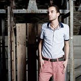 Young fashion man Royalty Free Stock Images