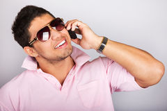Young fashion man model Royalty Free Stock Photography