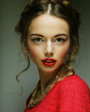 Young fashion model. Royalty Free Stock Photography