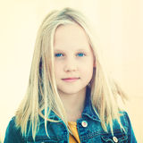 Young fashion model girl Stock Image