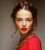 Young fashion model. Stock Photo