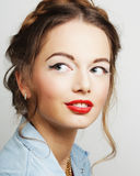 Young fashion model. Stock Image
