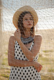 Young fashion model Stock Photos