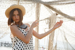 Young fashion model Royalty Free Stock Photography