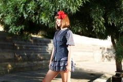 Young fashion woman. Young beautiful women in fashion cloths stock photography