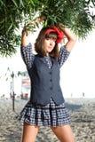 Young fashion woman. Young beautiful women in fashion cloths stock photo