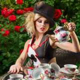 Young fashion woman Stock Images