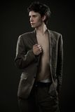 Young fashionable man Stock Images
