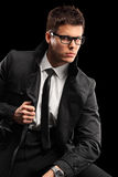 Young fashionable man Stock Photo