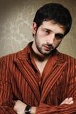 Young fashionable stylish man Royalty Free Stock Images