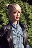 Young fashionable woman Royalty Free Stock Photo