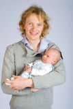 Young father Royalty Free Stock Photos