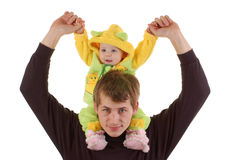 Young father Royalty Free Stock Images