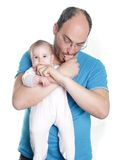 Young father and baby Royalty Free Stock Photography