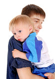 Young Father and Baby Royalty Free Stock Photos