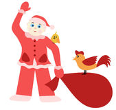 Young Father Christmas Royalty Free Stock Photos