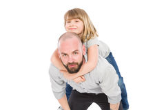 Young father and daughter Stock Images