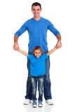 Young father girl Stock Photography