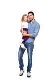 Young father with his daughter Royalty Free Stock Photography