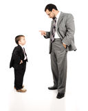 Young father and his son Royalty Free Stock Photos