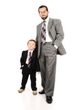 Young father and his son Stock Photo