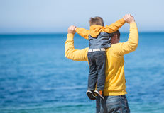 Young father and his son Royalty Free Stock Photo