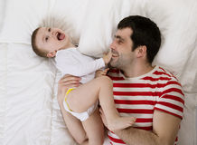 Father and child Stock Image