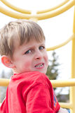 Young Fearful boy Royalty Free Stock Photography