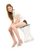 Young female Stock Images