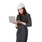 Young female architect Royalty Free Stock Images