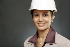 Young female architect Royalty Free Stock Photography