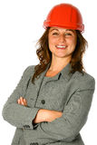 Young female architect Stock Photo
