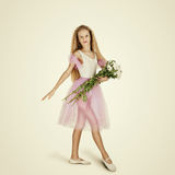 Young Female Ballet Dancer. Ballerina Stock Image