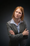 Young Female Business Leader Stock Images