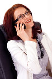 Young female business manager Stock Images