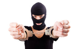 Young female criminal Stock Photography
