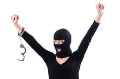Young female criminal Stock Photos