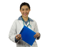 Young female doctor Stock Image