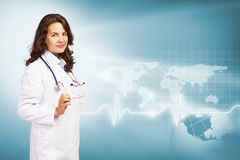 Young female doctor Stock Photography