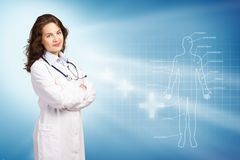 Young female doctor Stock Photos