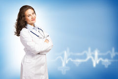Young female doctor Royalty Free Stock Image