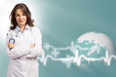 Young female doctor Royalty Free Stock Photo