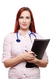 Young Female Doctor, Vet, GP or consultant Royalty Free Stock Images
