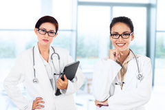 Young female doctors Royalty Free Stock Images