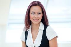 Young female employee Stock Image