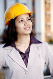 Young Female engineer Royalty Free Stock Images